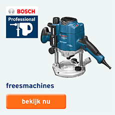 Bosch Professional - assortiment - freesmachine