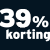 39% korting