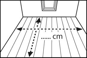 Stap 1 - Vloer isoleren - Hoeveelheid materiaal berekenen