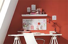 Effect van kleur - Rood