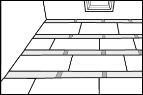 Stap 4 - Vloer isoleren - Isolatieplaten op maat maken en plaatsen
