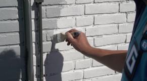 Stap 9: buitenmuren schilderen