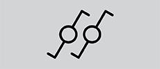 Schakelaars - wissel-wisselschakelaar symbool