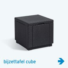 Allibert - bijzettafel cube