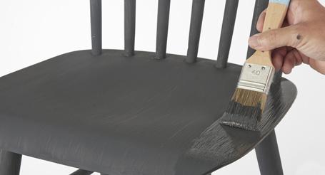 Lichtgrijs Eiken Meubels : Meubels schilderen met wood wall verf gamma