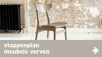 link - verf - stappenplan meubels verven