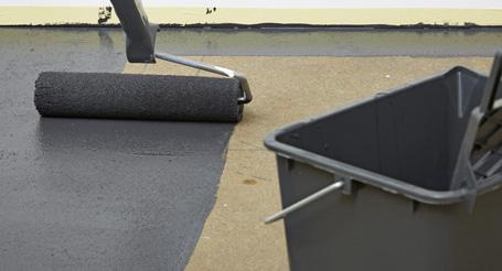 Betonnen vloer verven