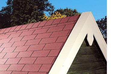 Shingle dak maken