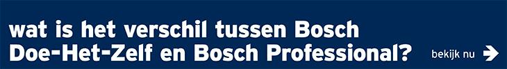 Bosch Professional - banner verschil groen -blauw