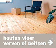 link - verf - stappenplan houten vloer verven of beitsen