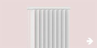 Raamdecoratie - Keuzehulp en advies - Verticale lamellen