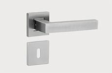 deurbeslag - Deurklink + rozet + sleutelrozet