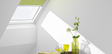 Raamdecoratie en zonwering voor dakramen