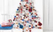 Kerstboom met hangers