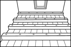 Stap 2 - Vloer isoleren - Balken op maat zagen