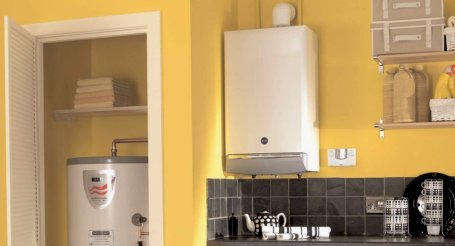 Close in boiler installeren gamma