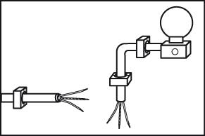 Bewegingssensor monteren buitenkabel aanleggen