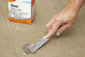 Stap 4 - Betonnen vloer verven