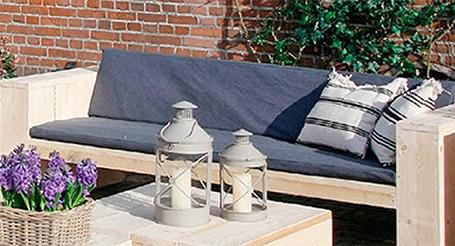Zelf tuinmeubels maken lovely een zwevende loungebank maken uit