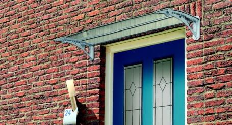 Luifel boven de voordeur