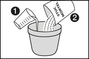 Stap 4 - Stucmortel aanmaken