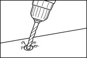 Beschadigde schroef verwijderen - uitboormethode - stap 1