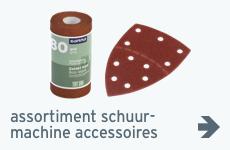 Beeld - assortiment - accessoires schuurmachine