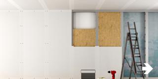 Beeld - Bouwmaterialen - Klusadvies muur & plafon
