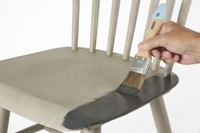 Stap 2: meubels schilderen met wood & wall verf