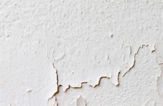 Beeld - De net opgebrachte verf laat los