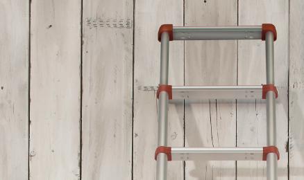 Ladders, trappen en steigers veilig gebruiken