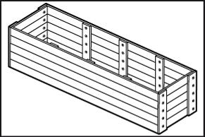 Stap 4 kast maken van steigerhout