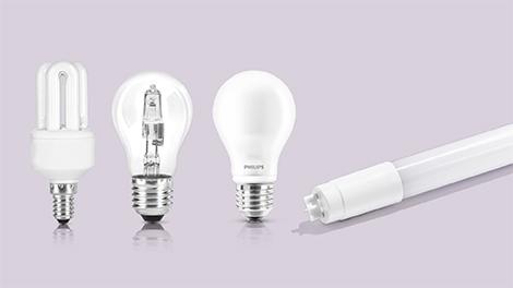 soorten lampen