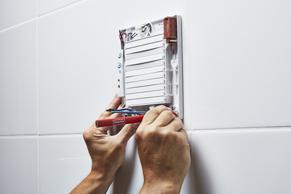 Afzuiging Badkamer Stroom : Badkamerventilator installeren u2013 stappenplan gamma