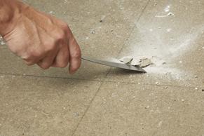 Stap 1 - Betonnenvloer schilderen