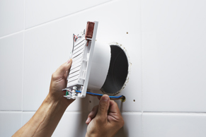Ventilatie Badkamer Muur : Badkamerventilator installeren u stappenplan gamma