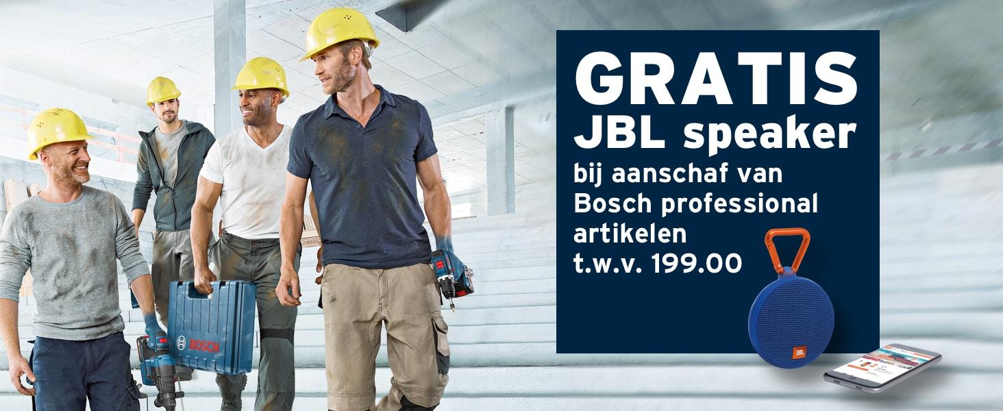 wk1744/49 - Bosch professional acties - Gratis JBL speaker