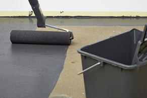 Stap 9 - Betonnen vloer verven