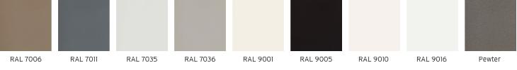 Beeld - Welke kleuren Sentimo radiatorbekleding zijn er?