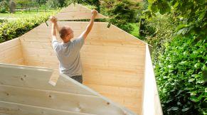tuinhuis zelf bouwen stunning tuinhuis bouwen zelf sauna bouwen een schuurtje simple aanbouw. Black Bedroom Furniture Sets. Home Design Ideas