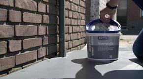 Stap 6: buitenmuren schilderen