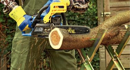 Zaagbok voor hardhout maken