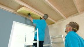 Plat dak isoleren van binnenuit u stappenplan gamma