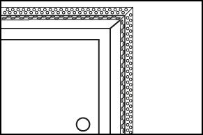 Stap 4 - Hoekbeschermers plaatsen