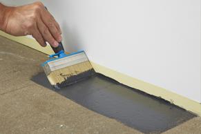 Stap 8 - Betonnen vloer verven