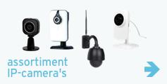 Assortiment IP-camera's