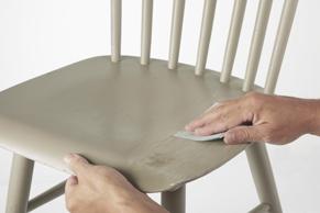 Stap 1: meubels schilderen met wood & wall verf