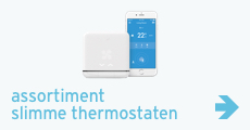 Assortiment slimme thermostaten