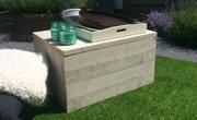 Steigerhouten tafel box