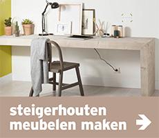 Steigerhout - stappenplan steigerhouten meubels maken